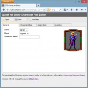QFG Character Editor - Web Application