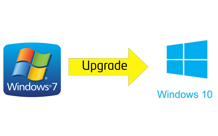 Windows 7 Upgrade Windows 10
