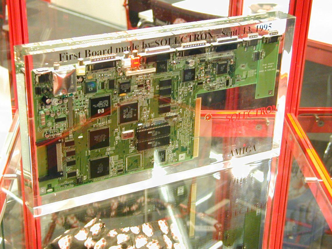 Mainboard Solectron Amiga HEW 99 Köln