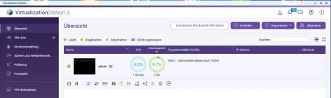 Virtualisierung NAS QNAP