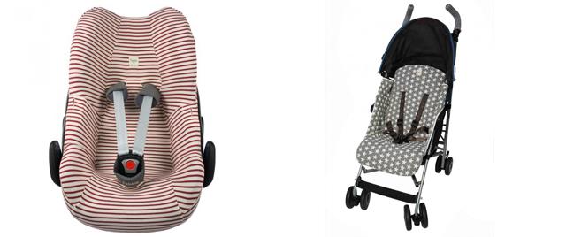 fundas sillitas de coche bebé
