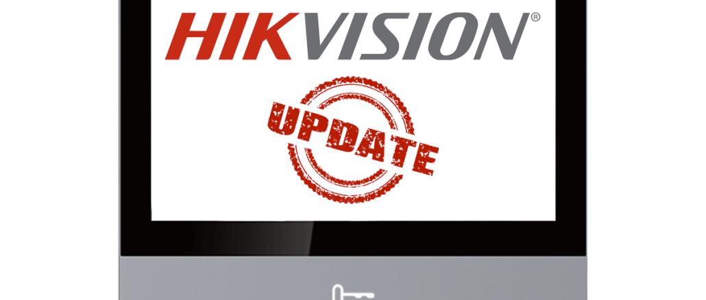 Hikvision update