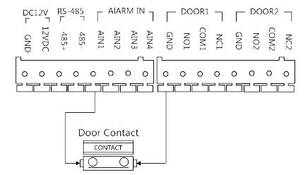 Egylakásos kaputelefon telepítési példa 5