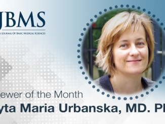 The Reviewer of the Month for November 2020: Dr. Edyta Maria Urbanska