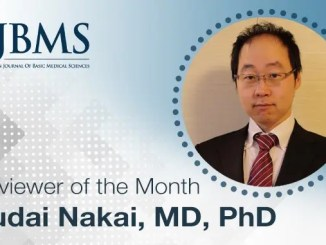 The Reviewer of the Month for March 2021: Dr. Yudai Nakai
