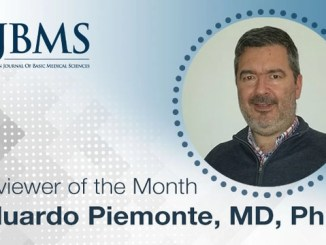 The Reviewer of the Month for May 2021: Dr. Eduardo Piemonte