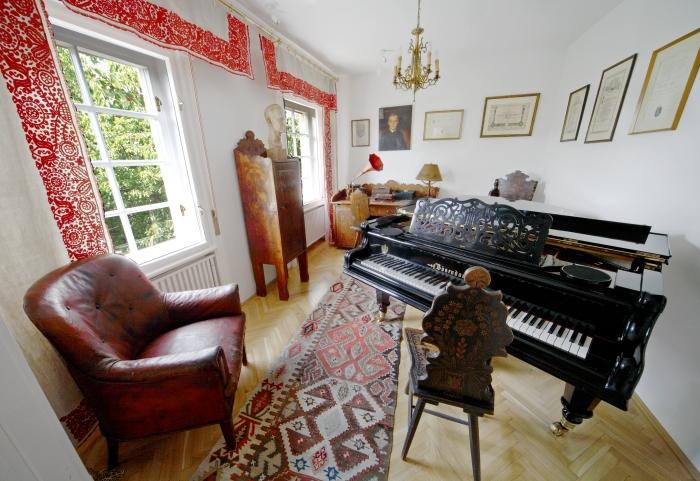 Casa Bela Bartok interior