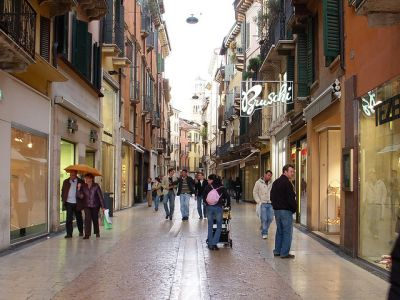 shopping center Verona