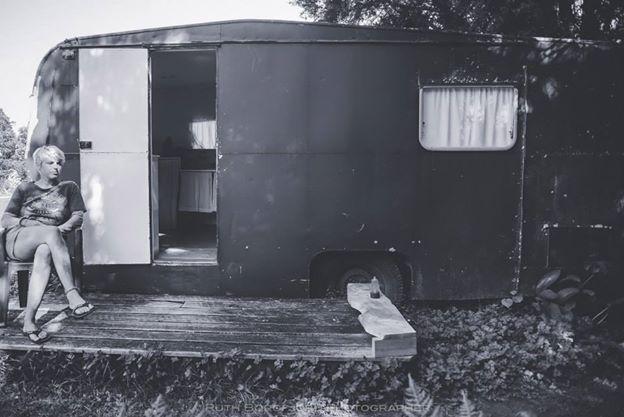 My house - the caravan
