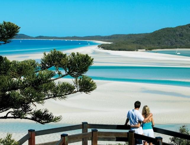 Australia, Whitehaven Beach; sursa foto - google+