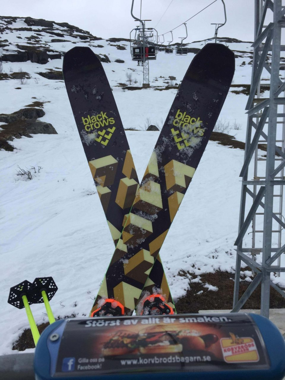 Scandinavian Big Mountain Championship skis : anima Photo: kristofer turdell