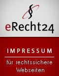 """eRecht24-Siegel """"Impressum"""""""
