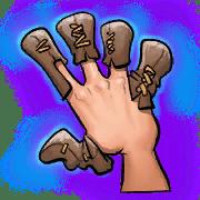 Item #05_2_058_1 - Invers-Fingerlose Handschuhe