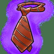 Item #08_1_060_1 - Krawatte der Seriosität
