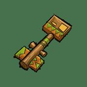 Item #11_1_005 - Schuppenschlüssel der Smaragdechsen
