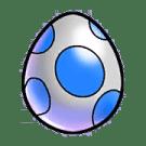 Item #16_1_005 - Wasser-Ei - aus diesem Ei schlüpfen die verbreiteten Pets des Wasser-Habitats