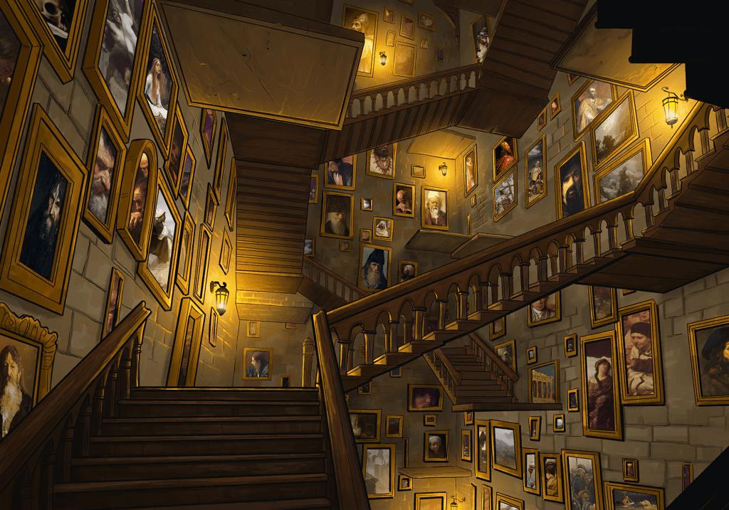 16. Dungeon - Altehrwürdige Zauberschule