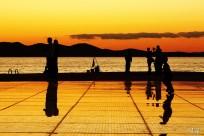 Sumrak na Pozdravu suncu, Zadar, Hrvatska