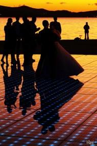 Ples svatova na Pozdravu suncu, Zadar, Hrvatska