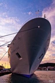 brod u luci, Split, Hrvatska