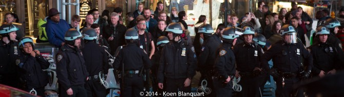 NYPD in Riot Gear