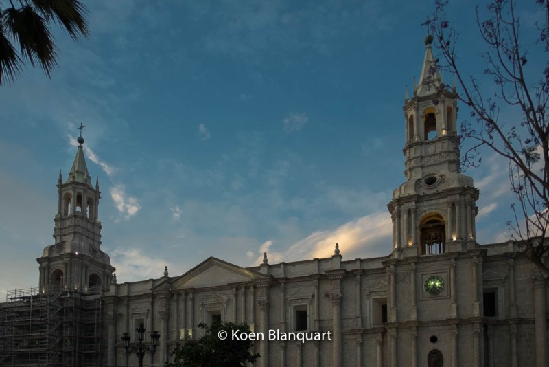 Visit Arequipa, and the Cathedral