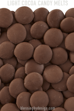 Light Cocoa Candy Melt Wafers