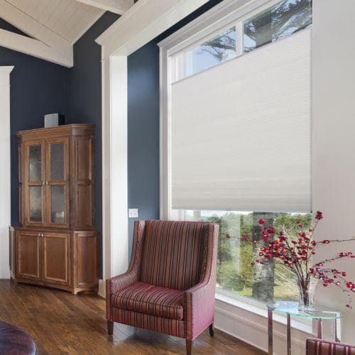 """Insulate your windows with the 3/8"""" Blinds.com Cell Shade"""