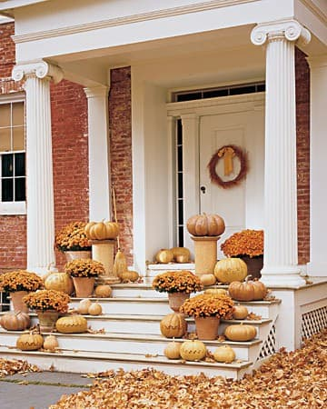 gold fall porch