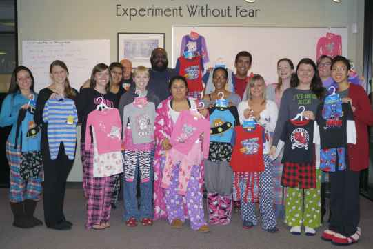 Easter Seals Pajama Day!