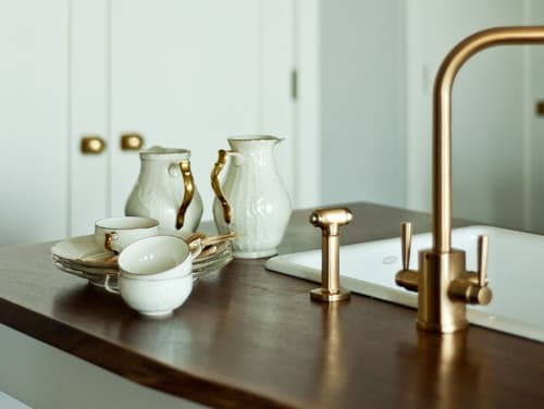 Brass home accents are back for 2013.