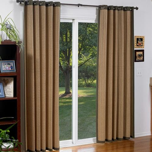Blinds.com Brand Woven Wood Grommet Panels