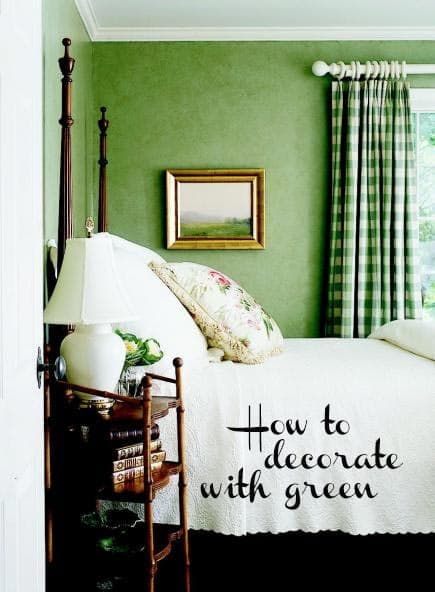 how-to-decorate-with-green