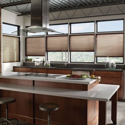 Blinds.com Brand No Holes Privacy Pleated Shades