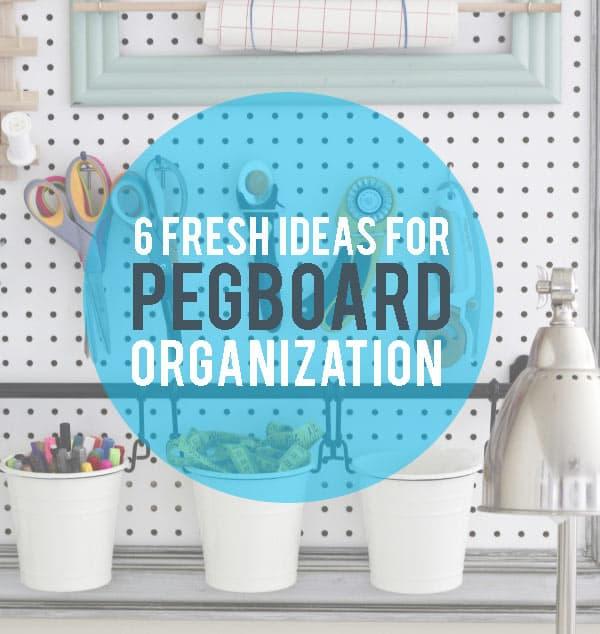 Pegboard-organization