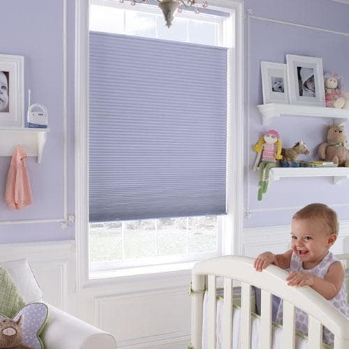 Cordless Blinds for Nursery
