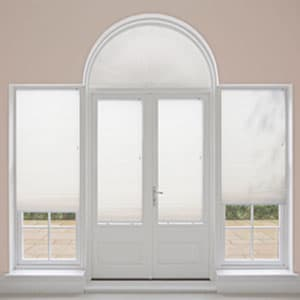 Arch Window Over Door