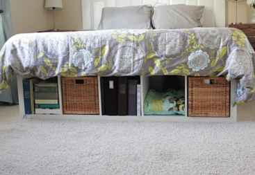 under the bed shelf dorm