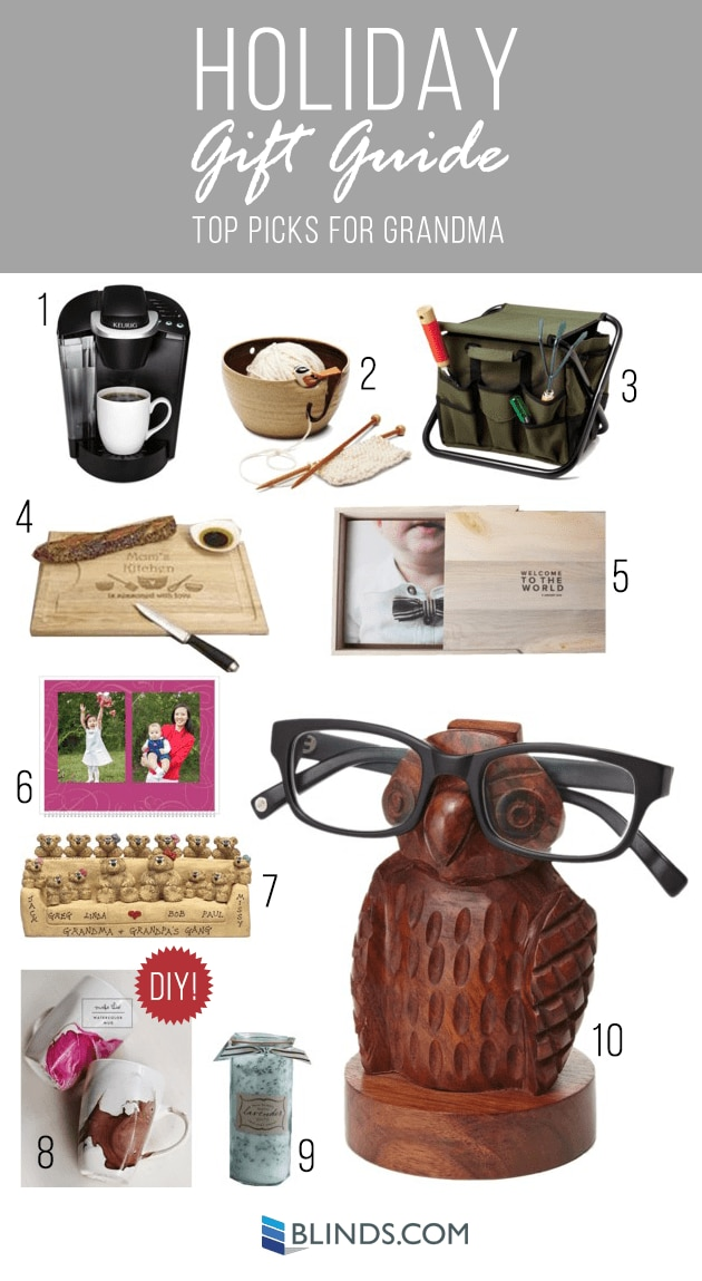 gift ideas for grandma 2014 Holiday Gift Guide: Gift Ideas for Mom and Dad