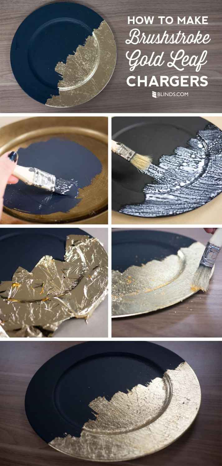 how-to-make-brushstroke-gold-leaf-chargers