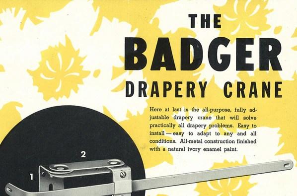 Badge Crane Drapery