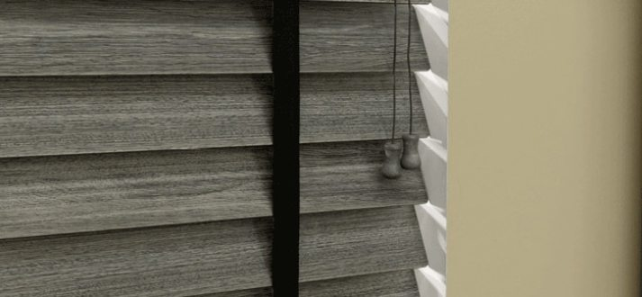 Vintage wood for your windows architectural wood blinds for 10 ft window blinds