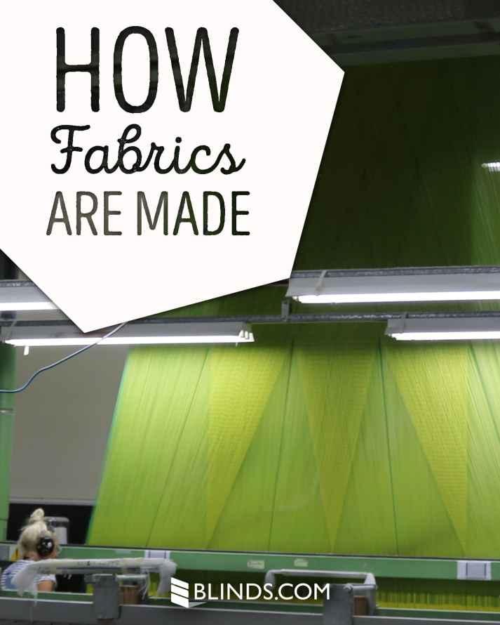 how fabrics are made