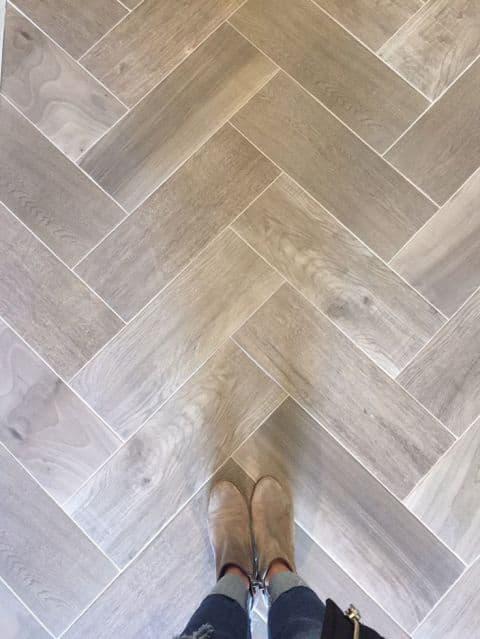 grey wood look tile floors