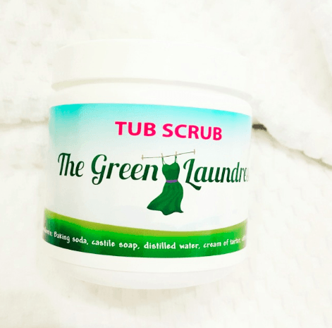 The Green Laundress - Tub Scrub