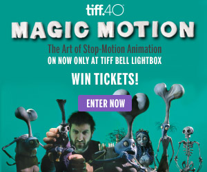 WIN Tickets to TIFF's Magic Motion: The Art of Stop-Motion Animation