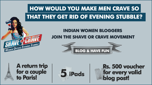 Shave or Crave campaign