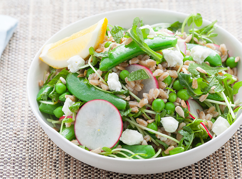 three pea salad