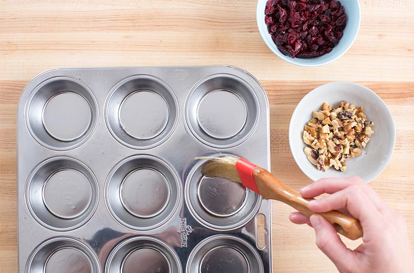 Cranberry Walnut Muffins   Blue Apron