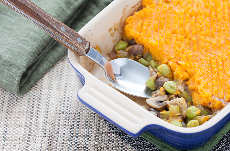 garbanzo shepherds pie